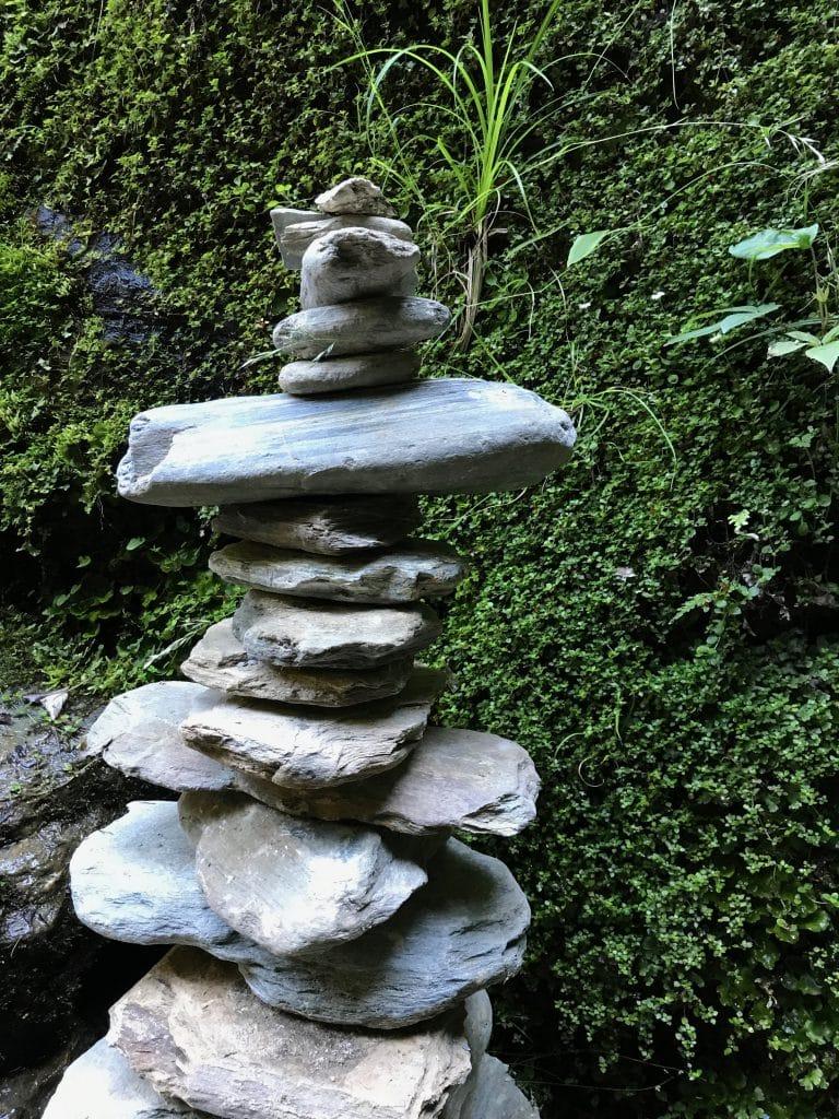 Stenen stapelen